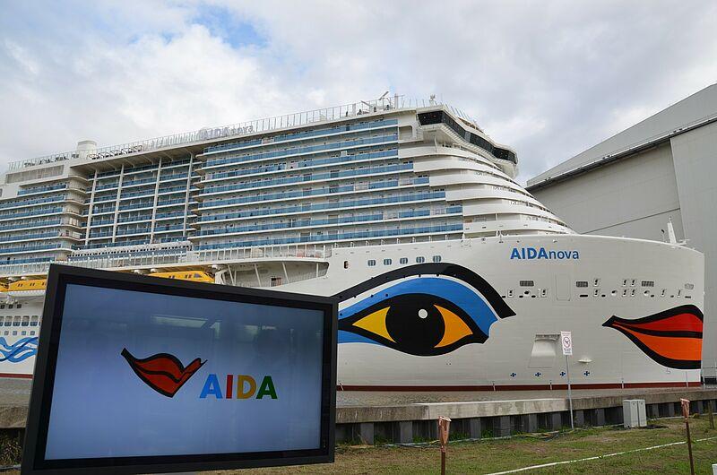 Touristik Aktuell Aida Nova Taufe Papenburg 31 August 2018