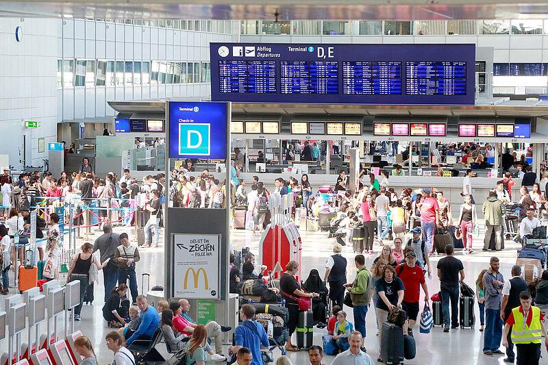 Flughafen Streik Frankfurt