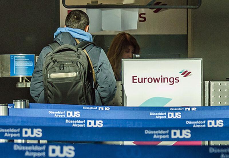 Touristik Aktuell Eurowings Starkt Drehkreuz Dusseldorf Weiter