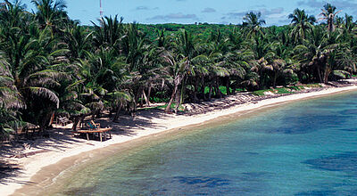 Strand auf Little Corn Island