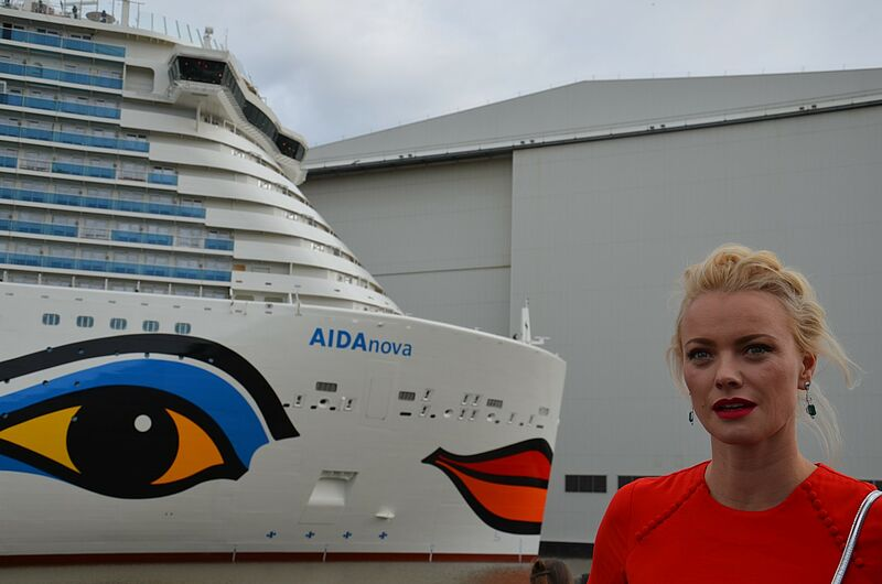 Touristik Aktuell Aida Nova Taufe Papenburg 31 August