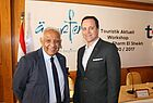 Magdy Omar (Red Sea Hotels) und Hisham Eldimiri (Egyptian Tourist Authority)
