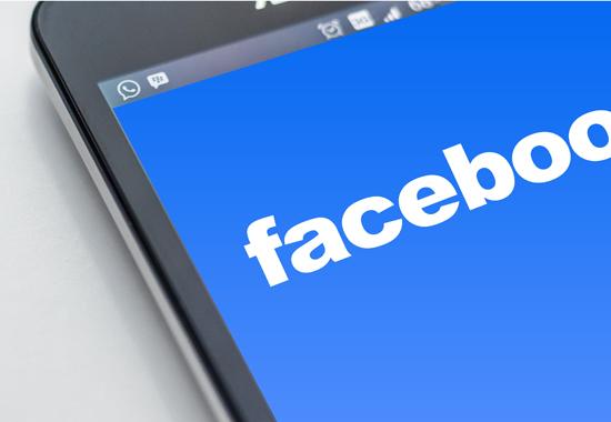 Facebook Auftritt