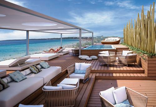 Touristik aktuell alltours neues allsun haus auf for Urlaub designhotel