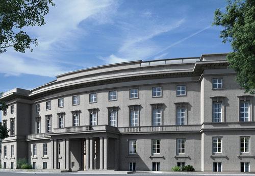Die ehemalige Königlich Dänische Gesandtschaft wurde in das Design